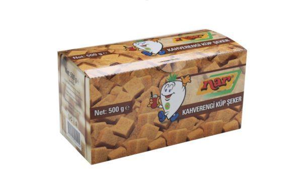 Nar Kahverengi Küp Şeker 500 Gr