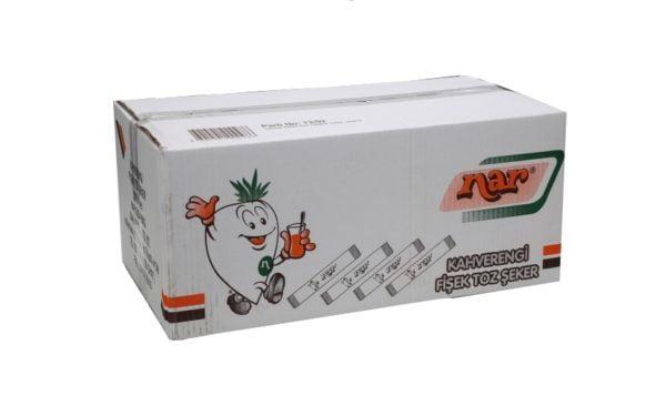 Nar Kahverengi Stick Şeker 4 Gr Koli