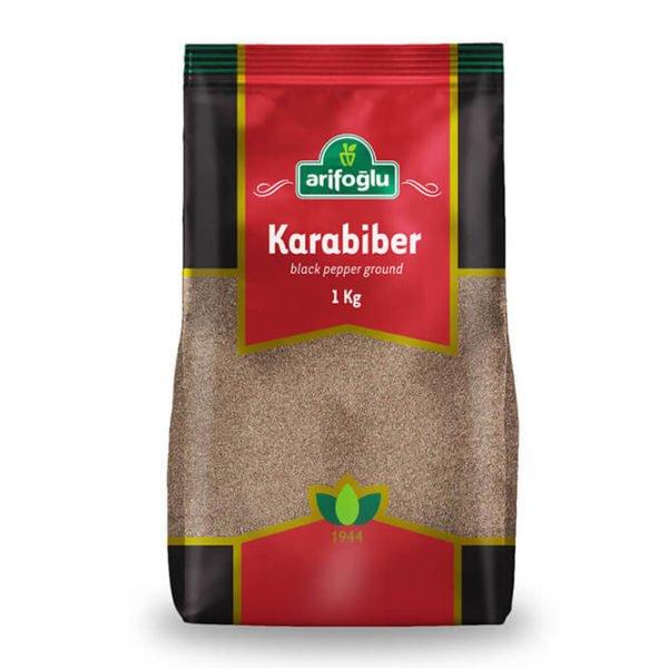 Arifoğlu Baharat Endüstriyel Toz Karabiber 1000 Gr