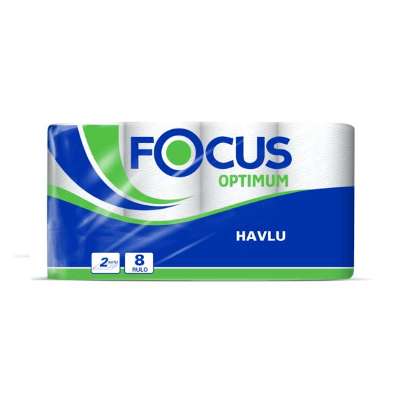 Focus Optimum Rulo Kağıt Havlu - Çift Katlı