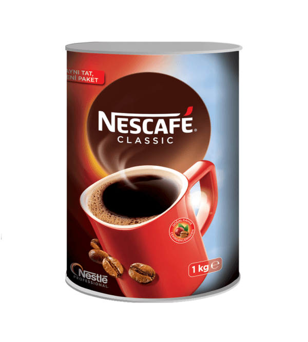 Nescafe Classic Hazır Kahve 1000 Gr (Teneke)