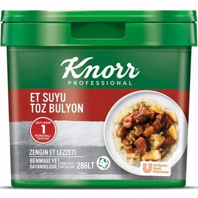 Knorr Et Suyu Toz Bulyon 5000 Gr