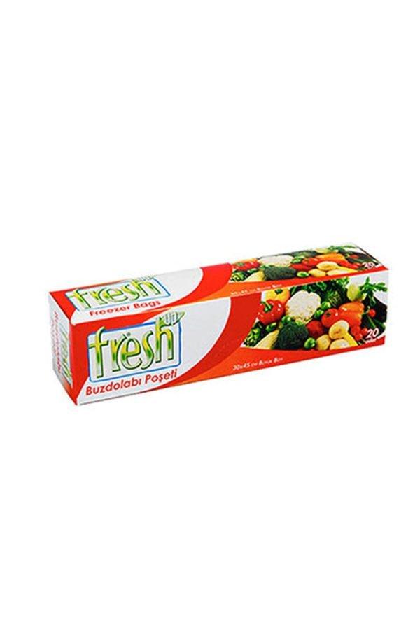 Fresh Up Büyük Boy Buzdolabı Poşeti (30 Adet)