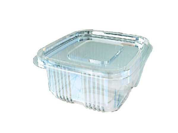 Plastik Sızdırmaz Kap 250 Gr Düz Kapak (100 Adet)