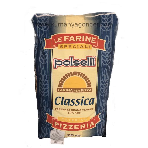 Le Farine Polselli 00 Classica Pizza Unu 25 Kg