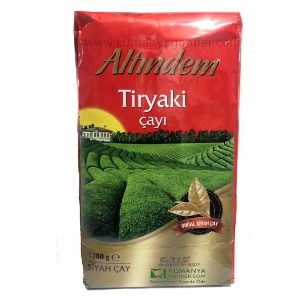 Doğal Tiryaki Siyah Çay 1000 Gr