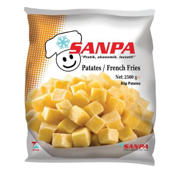 Sanpa Küp Patates 2500 Gr