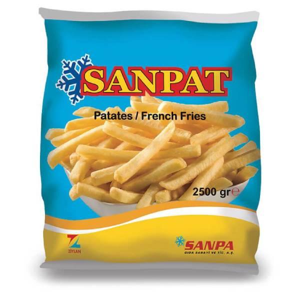 Sanpa Sanpat 9x9 Parmak Patates 2500 Gr