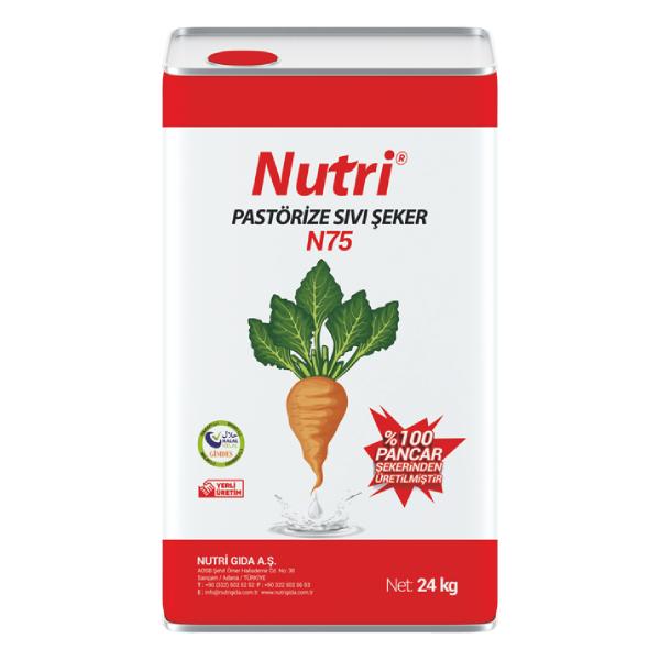 Nutri N75 Pastorize Sıvı Şeker Tatlı Şerbeti