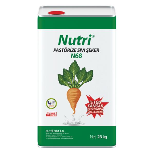 Nutri N68 Pastorize Sıvı Şeker Tatlı Şerbeti